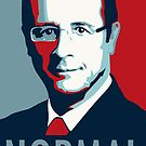 Hollande normal by guillaume bachelier