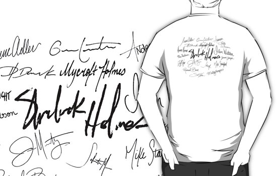 Sherlock Signature Series - Everybody! by Ashton Bancroft
