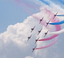 Red Arrows by Blinxsweeper
