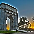 Memorial Arch at Valley Forge by Nicholas Nalbone