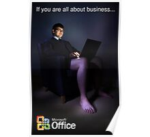 All About Business. Poster