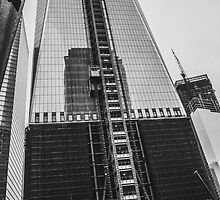 New York City, Freedom Tower. by junepenn
