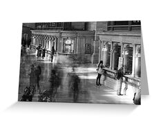 The Ghosts of Grand Central Greeting Card