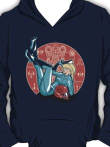 Power-up Pin-up- Metroid Shirt T-Shirt