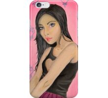 Girl Mysterious iPhone Case/Skin