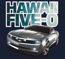 Hawaii 5-0 Camaro (White Outline) by Sharknose