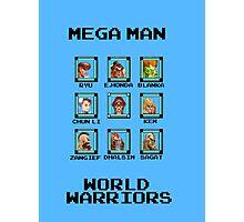 Mega Man - World Warriors Photographic Print