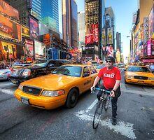 Times Square Traffic by Yhun Suarez