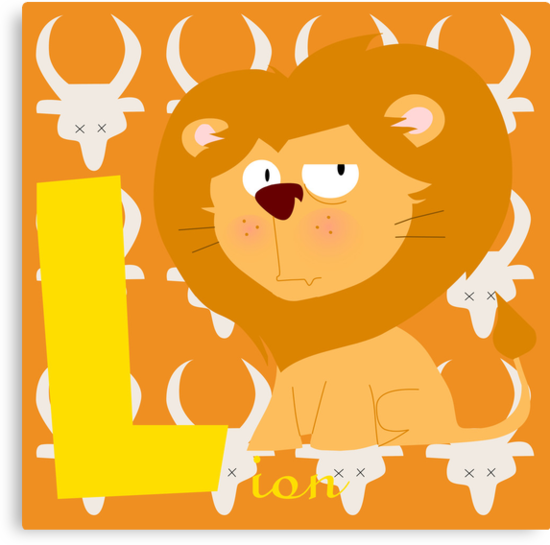l for lion by alapapaju