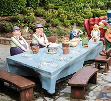The Mad Hatters Tea Party by Anne Scantlebury