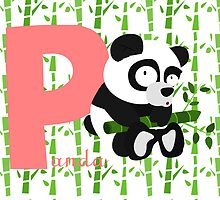 p for panda by alapapaju