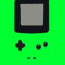 Green Gameboy Colour iPhone Case by Jake Driscoll