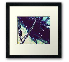 Creepy Nature Framed Print