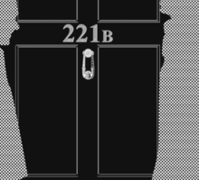 The Address is 221B Baker St Sticker