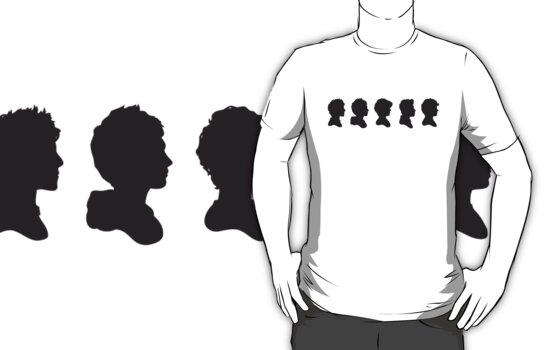 One Direction Silhouettes by italsma