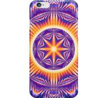 Psychedelic Kaleidoscope 3 Mandala abstract iPhone Case/Skin
