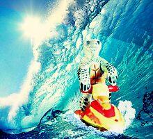 Surf Turtle Keep On It by William Barnes