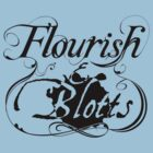 Flourish & Blotts of Diagon Alley Harry Potter by Fiona Reeves