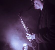 Your Sax is on Fire by Mark Elshout