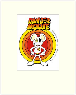 Danger Mouse by Antonio  Luppino