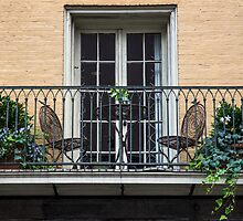 Balcony in French Quarter 2 by GJKImages