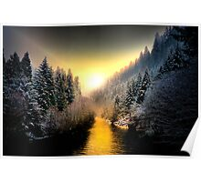 My Kind Of Place ~ Upper McKenzie River ~ Poster