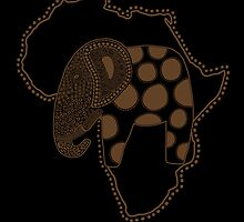 An Elephant in Africa by perdita00