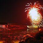 niagara fireworks by gruntpig