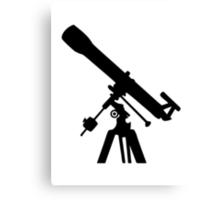 Telescope Canvas Print