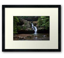 Cedar Falls Framed Print