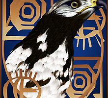 A Bird Of The Serengeti poster2 by Lotacats