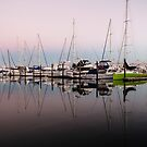 sunrise at the marina by Anne Scantlebury
