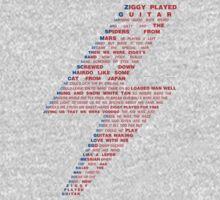 Ziggy played guitar... Kids Clothes
