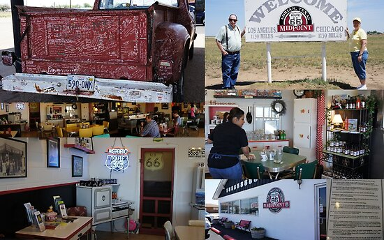 Midpoint Cafe on Route 66 by TxGimGim