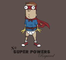 No Super Powers Required by Nick Terry