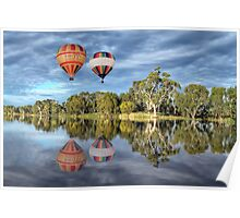 Hot Air Ballooning Poster