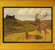 """""""Derbyshire View"""" ART FRAUD EXPOSED! by Soxy Fleming"""