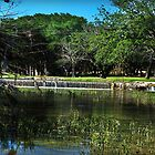 Sabinal River Vanderpool, Texas by NewLayer