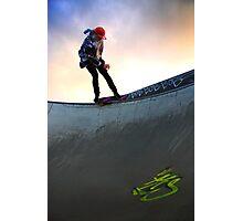 Torquay Skate Park Photographic Print