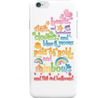 ★ Lucky Charms ❤  iPhone Case/Skin