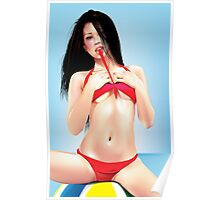 Beach Playtime Poster