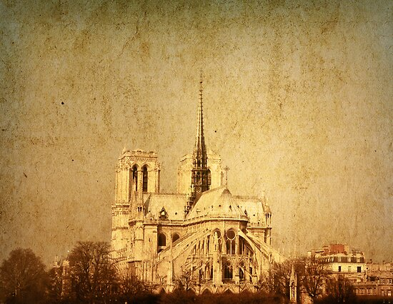 old-fashioned paris france by ilolab