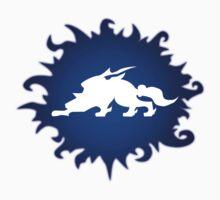 Okami: Blue and White  by LightningArts