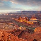 Sunrise at Dead Horse Point by FranJ