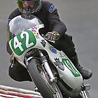 Vintage motorbike racing Bike42 by Kit347