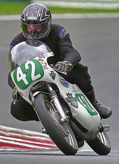 Vintage motorbike racing Bike42 by Kit347