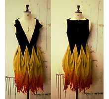 Girl on Fire 2 Photographic Print