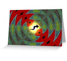 Amphibious Conceptions in Mathematical Divisions Greeting Card