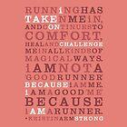 Strong Runner •Salmon by Megan  Romo