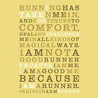 Strong Runner • Golden by Megan  Romo